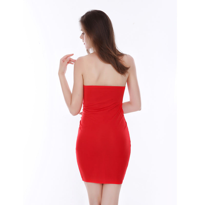 Deep V-Neck Bandage Backless Short Bodycon Dress - Oh Yours Fashion - 6