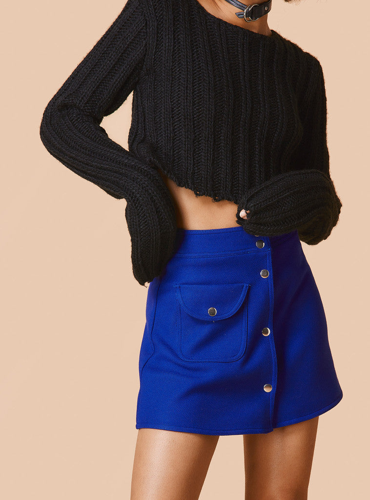 Sexy Long Sleeve Ribbed Crop Top Sweater - Oh Yours Fashion - 5