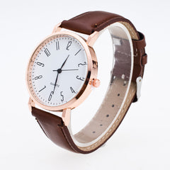 Classic Fashion Leather Quartz Watch - Oh Yours Fashion - 2