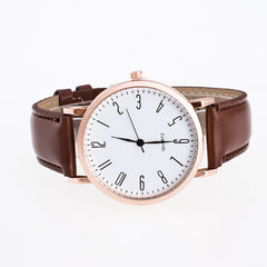 Classic Fashion Leather Quartz Watch - Oh Yours Fashion - 3