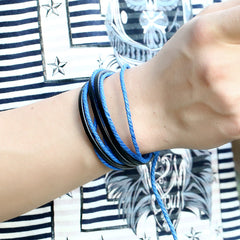 Leisure Retro Hand Woven Leather Bracelet - Oh Yours Fashion - 8
