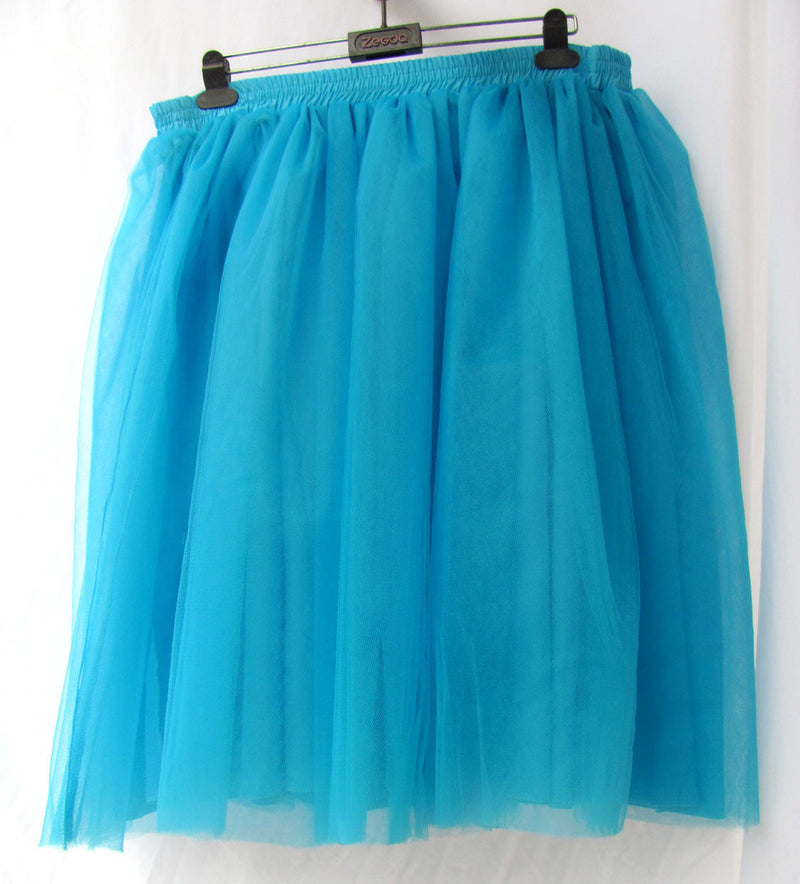 Lovely 7 Layers Pleated Flared Veil Skirt - Oh Yours Fashion - 5