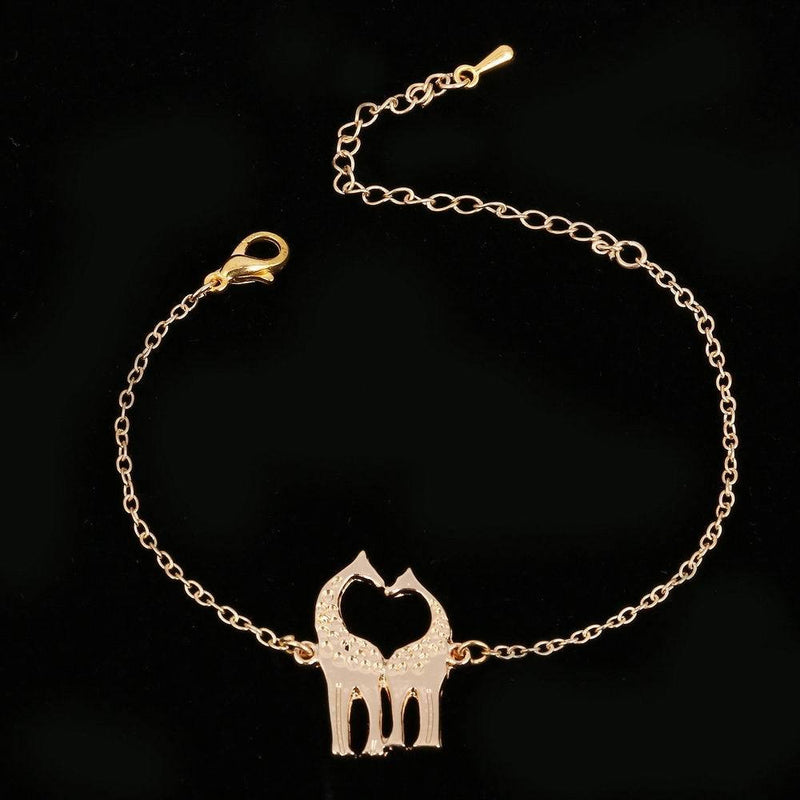 Giraffe Shaped Animal Themed Charm Necklace - Oh Yours Fashion - 6