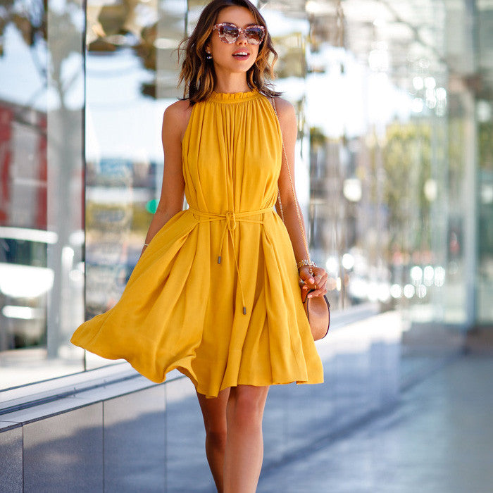 Short Dresses with Pockets