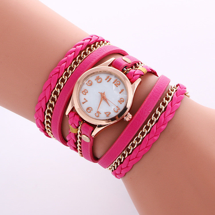 Bohemia Multilayer Chain Watch - Oh Yours Fashion - 8