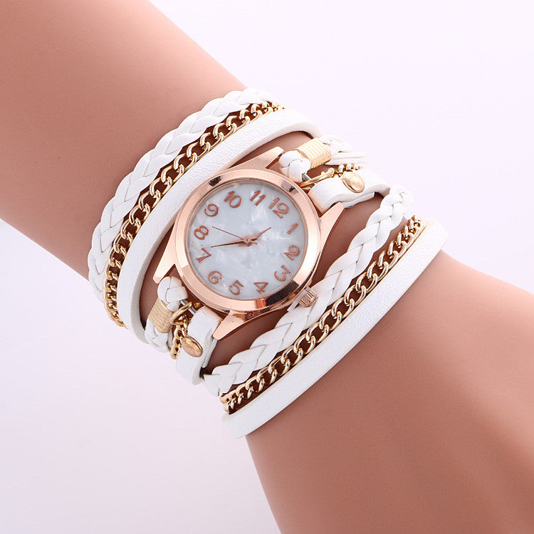 Bohemia Multilayer Chain Watch - Oh Yours Fashion - 1