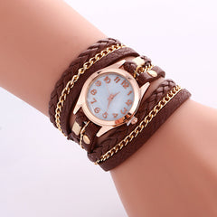 Bohemia Multilayer Chain Watch - Oh Yours Fashion - 7
