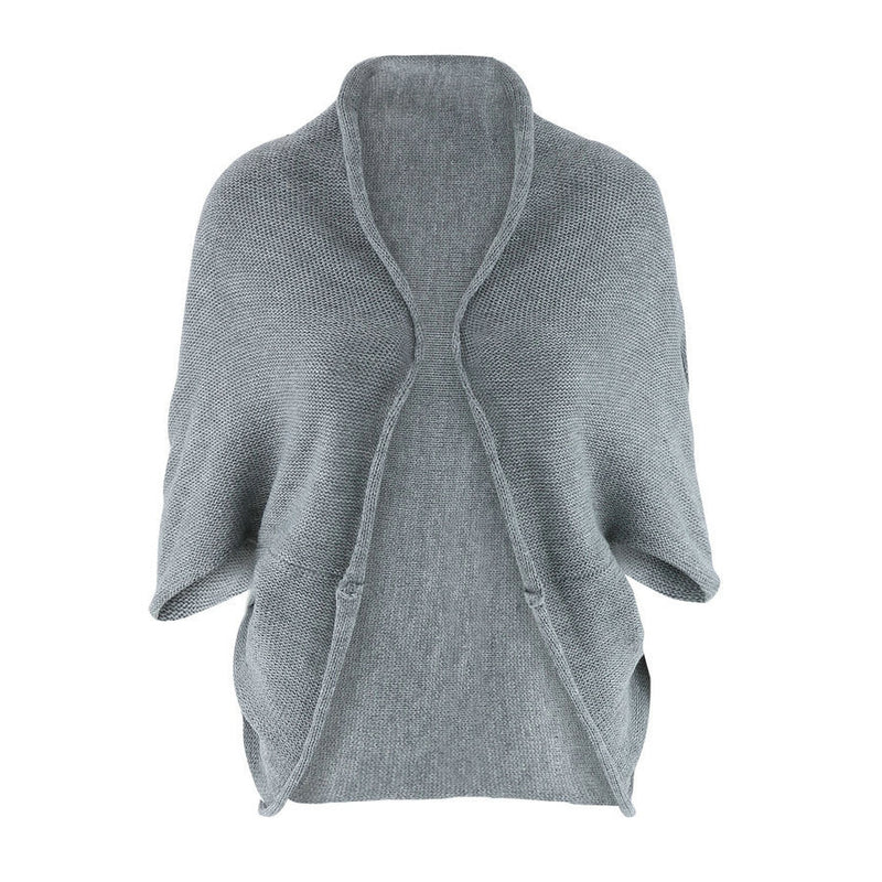 Thick Knitting Irregular Sweater Cardigan - Oh Yours Fashion - 6