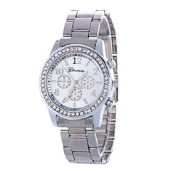 Fashion Alloy Strap Crystal Watch - Oh Yours Fashion - 2