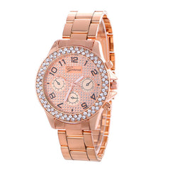 Fashion Alloy Strap Crystal Frosted Watch - Oh Yours Fashion - 3