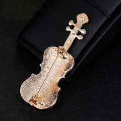 ViolinMusic Keyboard Instrument Combination Brooch - Oh Yours Fashion - 5
