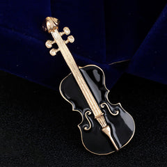 ViolinMusic Keyboard Instrument Combination Brooch - Oh Yours Fashion - 3