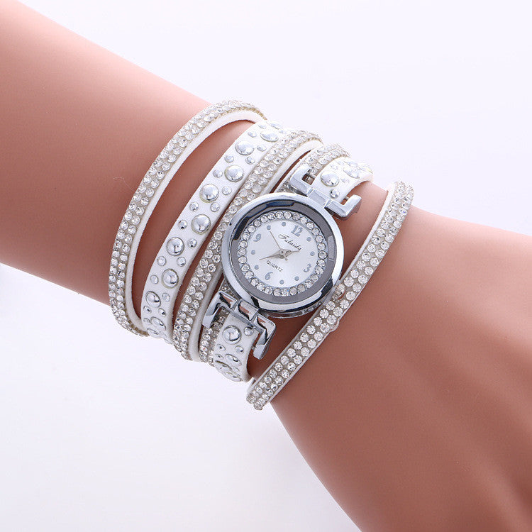 Beautiful Crystal Snowflake Women's Watch - Oh Yours Fashion - 1