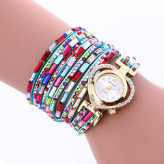 Color Crystal Heart Watch - Oh Yours Fashion - 4