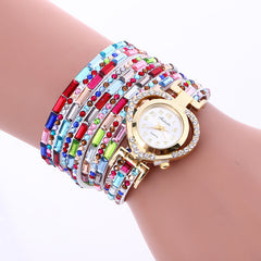Color Crystal Heart Watch - Oh Yours Fashion - 2