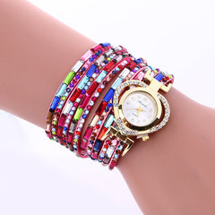 Color Crystal Heart Watch - Oh Yours Fashion - 6