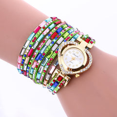 Color Crystal Heart Watch - Oh Yours Fashion - 3