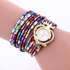 Color Crystal Heart Watch - Oh Yours Fashion - 7