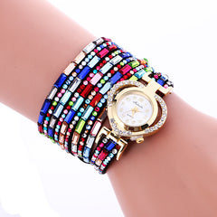 Color Crystal Heart Watch - Oh Yours Fashion - 5