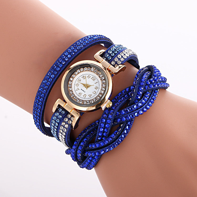 Beautiful Crystal Strap Wrist Watch - Oh Yours Fashion - 5