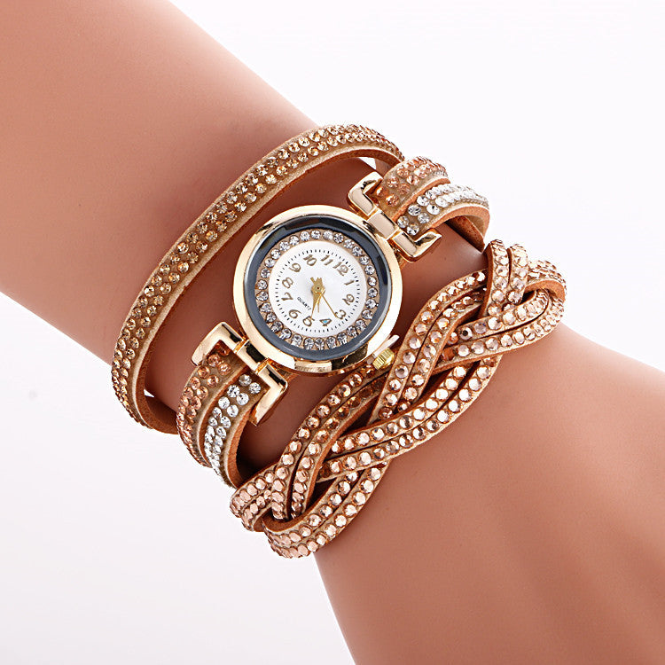 Beautiful Crystal Strap Wrist Watch - Oh Yours Fashion - 2