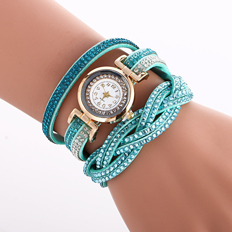 Beautiful Crystal Strap Wrist Watch - Oh Yours Fashion - 11