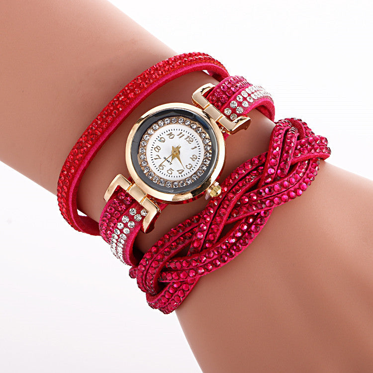 Beautiful Crystal Strap Wrist Watch - Oh Yours Fashion - 8