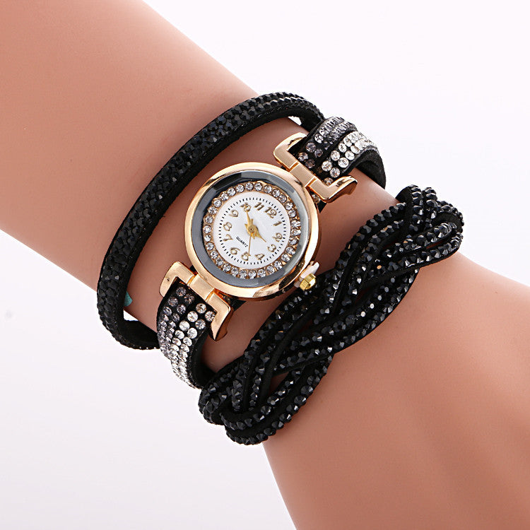 Beautiful Crystal Strap Wrist Watch - Oh Yours Fashion - 6