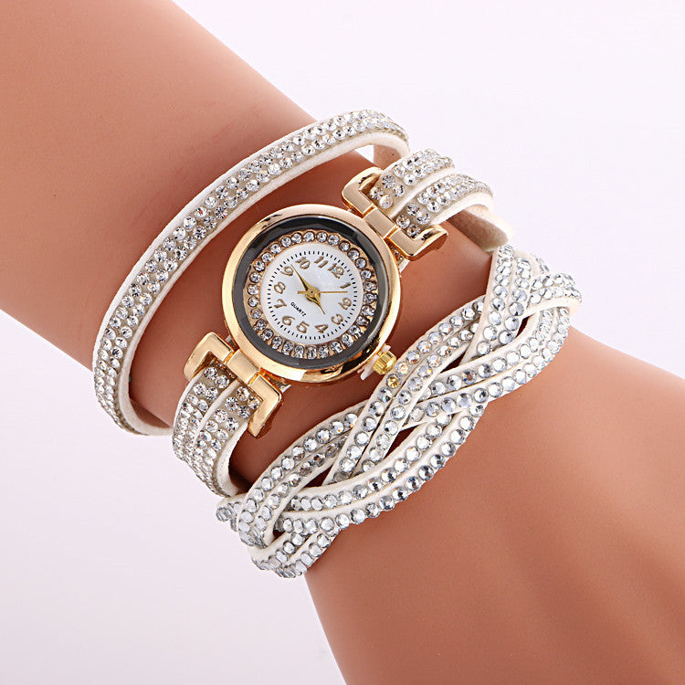 Beautiful Crystal Strap Wrist Watch - Oh Yours Fashion - 1
