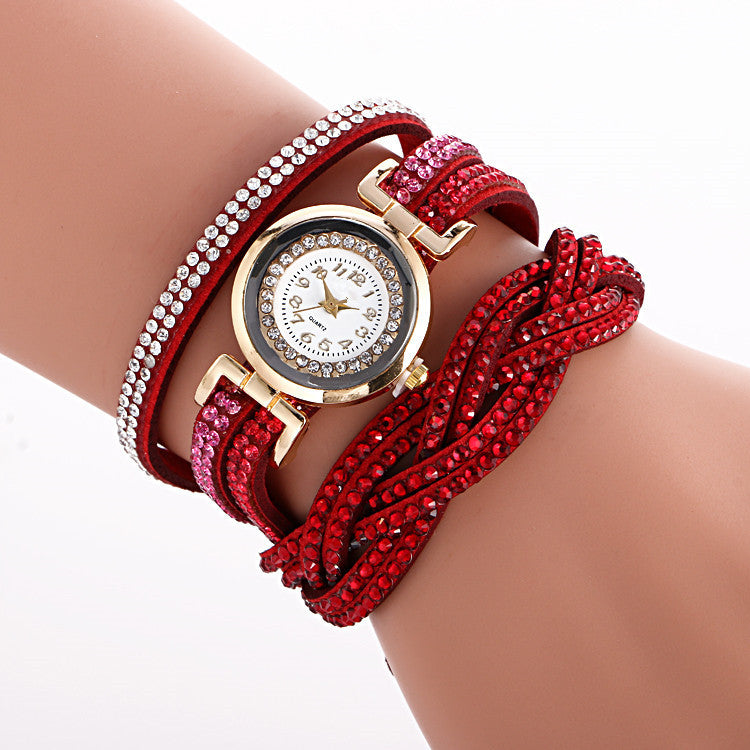 Beautiful Crystal Strap Wrist Watch - Oh Yours Fashion - 3