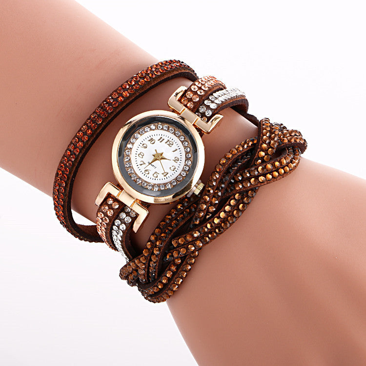 Beautiful Crystal Strap Wrist Watch - Oh Yours Fashion - 10