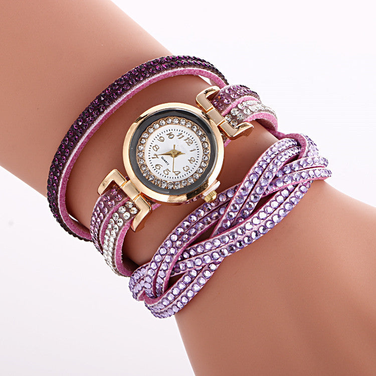 Beautiful Crystal Strap Wrist Watch - Oh Yours Fashion - 12