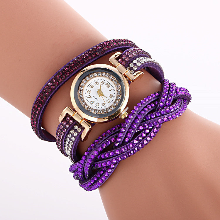 Beautiful Crystal Strap Wrist Watch - Oh Yours Fashion - 4