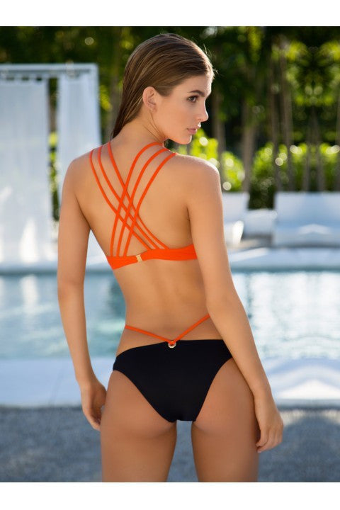 Sexy Corss Strap Padded Two Pieces Swimwear - Oh Yours Fashion - 4