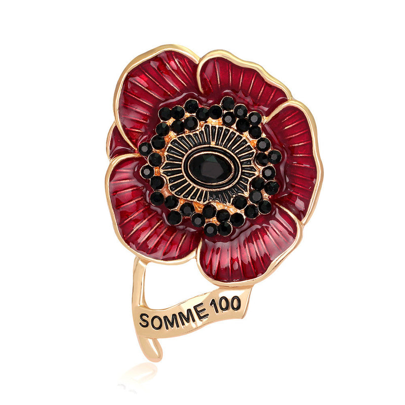 Retro High-grade Flower Brooch - Oh Yours Fashion - 2