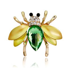 Cute Crystal Little Bee Brooch - Oh Yours Fashion - 2