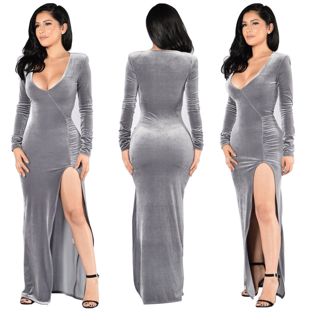 sexy christmas long evening party dress oh yours fashion 2
