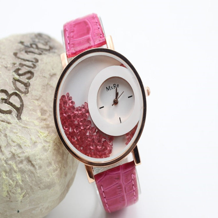 Classic Candy Color Quicksand Snake Skin Watch - Oh Yours Fashion - 5