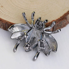 Cute Crystal Little Bee Brooch - Oh Yours Fashion - 5