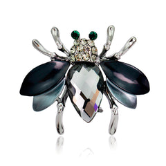 Cute Crystal Little Bee Brooch - Oh Yours Fashion - 4