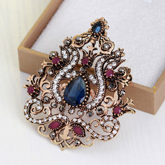 High-grade Diamond Crown Brooch - Oh Yours Fashion - 4