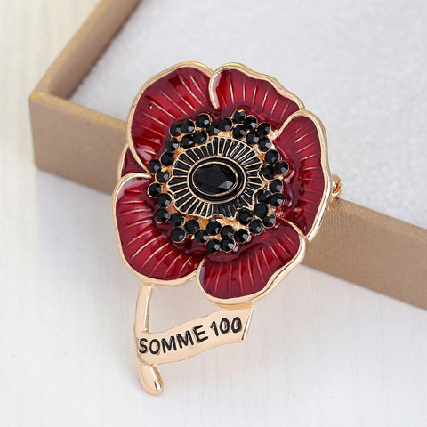 Retro High-grade Flower Brooch