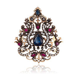 High-grade Diamond Crown Brooch - Oh Yours Fashion - 2