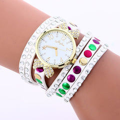 Colorful Crystal Multilayer Watch - Oh Yours Fashion - 2
