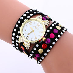 Colorful Crystal Multilayer Watch - Oh Yours Fashion - 5
