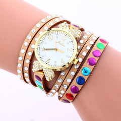 Colorful Crystal Multilayer Watch - Oh Yours Fashion - 7