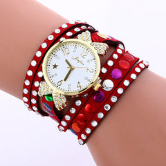 Colorful Crystal Multilayer Watch - Oh Yours Fashion - 3