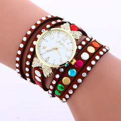 Colorful Crystal Multilayer Watch - Oh Yours Fashion - 6