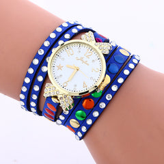 Colorful Crystal Multilayer Watch - Oh Yours Fashion - 4