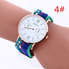 Bohemia Style Colorful Chain Elastic Watch - Oh Yours Fashion - 4